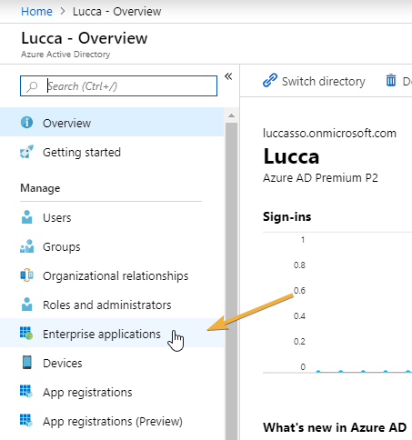 SSO Azure Active Directory (SAML 2 0) – Lucca Support