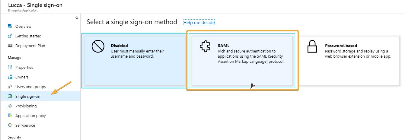 User Por Saml Single Sign - Tmltesting