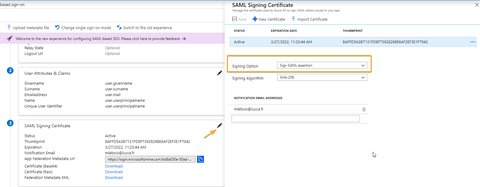 User Por Saml Single Sign - Tmltesting